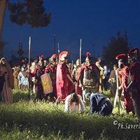 Settimana Santa in Puglia – Via Crucis al Parco Archeologico di Siponto (22)
